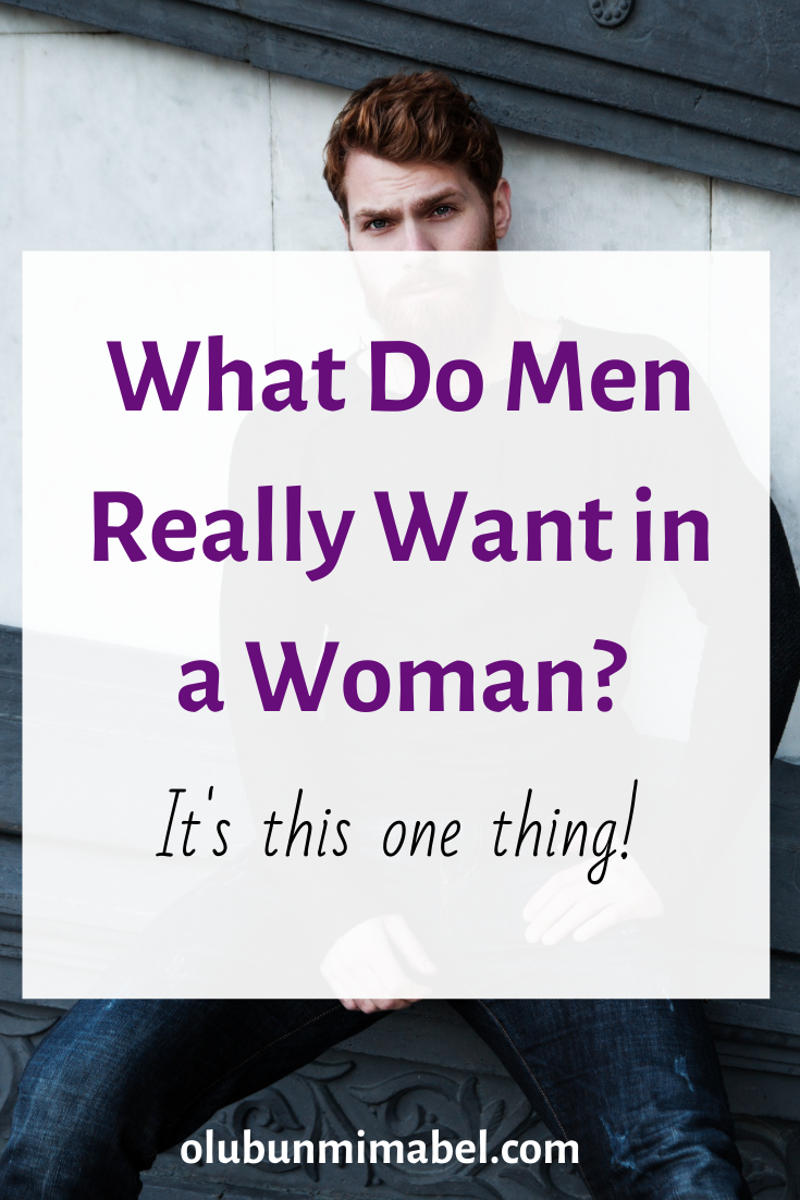 What Do Men Really Want?
