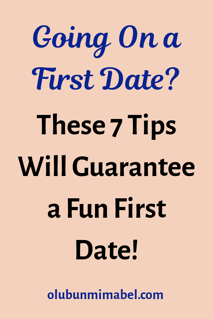 How to Have a Fun (First) Date