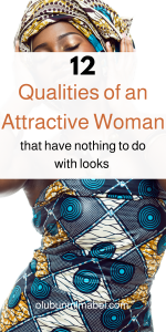 attractive woman habits