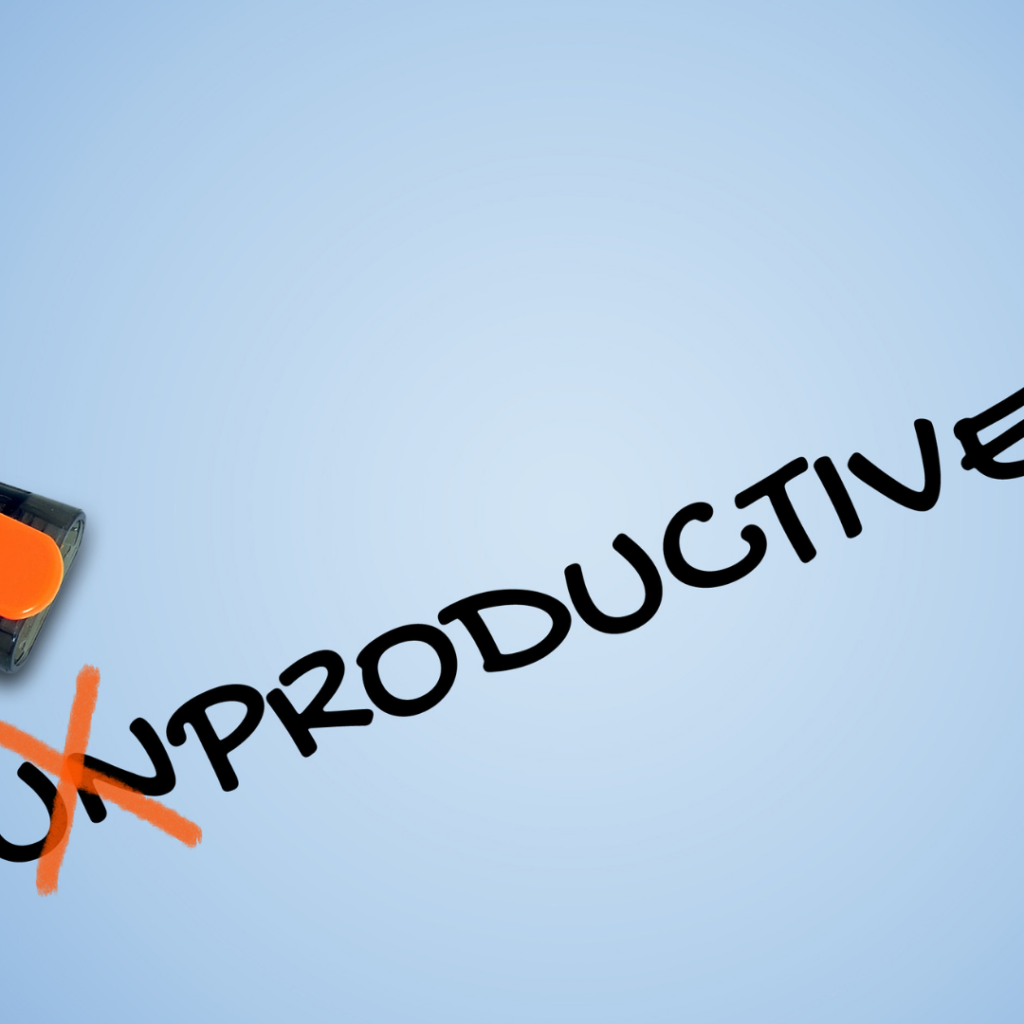 unproductive habits to get rid of